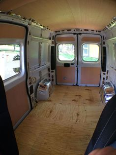 or, How I Learned To Stop Worrying, and Build a Custom Camper Van