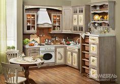Кухня Прованс Шато от фабрики «Экомебель» - купить кухню в стиле Прованс в Москве Beautiful Kitchens, Beautiful Interiors, Diy Kitchen, Kitchen Cabinets, Sister Home, Next At Home, Home Hacks, Country Chic, Declutter