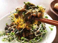 肝機能UP!納豆とブロッコリースプラウトの画像