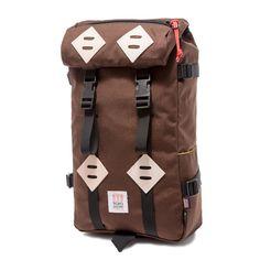 Topo Designs Coffee Klettersack 15L