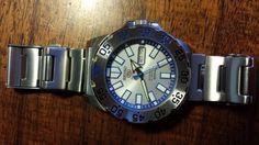 Seiko SRP481K1 Mini Ice Monster Ice Monster, Seiko Monster, Bracelet Watch, Watches, Steel, Mini, Accessories, Wristwatches, Clocks