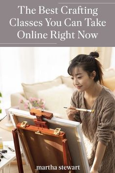 Looking to start a new art project or a new hobby but not sure where to begin? We rounded up six websites that allow you to take crafting classes online, so you can paint, knit, and more all from the comfort of your own home. #marthastewart #crafts #diyideas #easycrafts #tutorials #hobby Activities To Do, Educational Activities, Make A Comic Book, Popular Crafts, Watercolor Lettering, How To Make Comics, Free Photography, Field Guide, New Hobbies