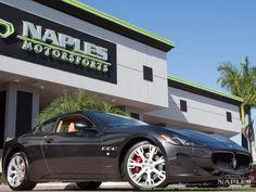 2013 Maserati Gran Turismo S BOSE Audio Navigation Leasing Available Luxury Cars For Sale, Bose, Maserati, Aston Martin, Exotic Cars, Audio, The Originals, Luxury Cars