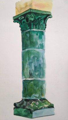 size: 24*32 cm artist : Thuy Linh material : watercolour year: 2015
