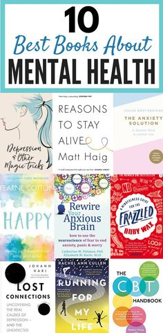 10 Best Books About Mental Health (That Will Improve Your Life) | Reading is a great way to help with depression, anxiety, stress and other mental illnesses. These best books are amazing for dealing with mental health issues and you'll get some great insp https://www.musclesaurus.com
