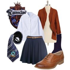 Ravenclaw, created by companionclothes on Polyvore