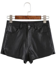 Shorts bolsillos-(Sheinside)