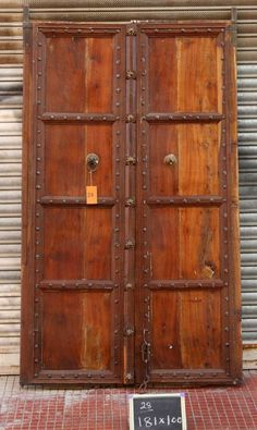 Doors and Gates from Shikara Design. From immense Indian hand carved door frames and Bali gates to smaller access single doors we have a huge selection of doors and doorways at our disposal Indian Doors, Boho Inspiration, Single Doors, Balinese, Doorway, Door Design, Hand Carved, Gate, Rustic