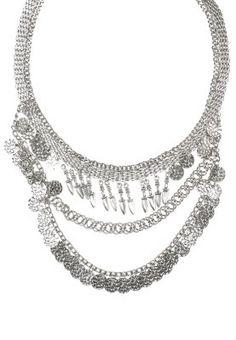 PCJORIE - Halskette - silver colour