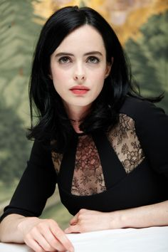Krysten Ritter at the 'Jessica Jones' Press Conference at The London Hotel on July 25, 2015 in New York City.