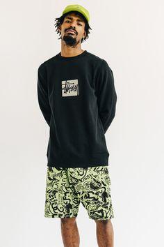 Stussy Japan Mens SS16.  menswear mnswr mens style mens fashion fashion style campaign stussy lookbook Buy T Shirts Online, Stussy, Fashion Wear, Types Of Fashion Styles, Cool T Shirts, Men Casual, Menswear, Cutoffs, Shorts