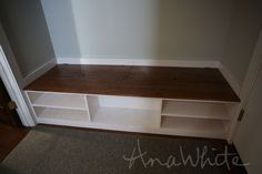 Extra Wide Shoe Bench
