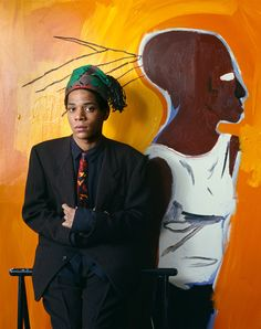 By Evelyn Hofer, 1985.Jean-Michel Basquiat (1960–1988) More Pins Like This At FOSTERGINGER @ Pinterest