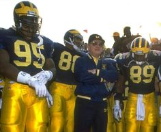 Michigan Wolverines Football, Ncaa College Football, Bo Schembechler, University Of Michigan, Go Blue, Detroit, Sports, Men, Bobby