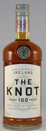The Knot Irish Whiskey.  Kind of like Irish Southern Comfort--caramel/vanilla flavor, but 100 proof