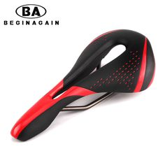 BEGINAGAIN 2017 Hot Bicycle Saddles Sillin Bicicleta MTB Road Bike Front Seat Pads Hollow Design Breathable Cycling Saddles Part