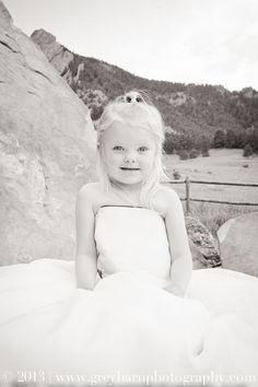 Mama's Wedding Dress | Denver, CO Lifestyle Children Photographer