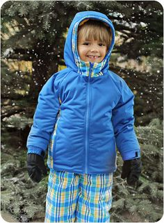 Polar Pal Parka: Parka Sewing Pattern Coat by PeekabooPatternShop