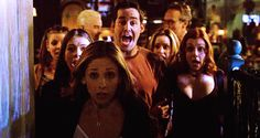 When #Buffy Gang went hunting vampires #Scoobies 18 years of BtVS 2015 memorable moments