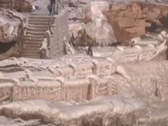 12/23/2014 - Waterfall freezes over on Yellow River.  Tourists have been flocking to a section of China's Yellow River in far greater numbers recently as part of the Hukou Waterfall has frozen over in the incredibly cold weather.
