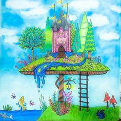 """""""Ficou lindo, @alinemendoncacosta!! #viadirect #⃣ Use #jardimcolorido para divulgar as suas artes aqui!…"""""""