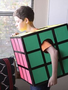 Love the Rubic's Cube - I think even I could make this one!