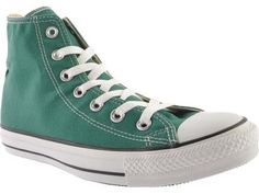 Converse Chuck Taylor All Star Seasonal High Tops in Forest Green  -  CLICK TO GET 20% OFF WITH COUPON CODE!