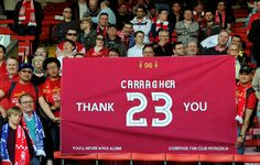 It was carragher's last ever derby