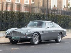 Classic Aston Martin DB6 for sale in London with Classic & Sports Car Classifieds, the UK's best online classic car classifieds.