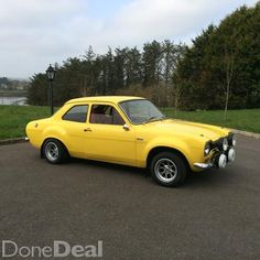 1969 Mark 1 Ford Escort 1600cc, for sale on DoneDeal.ie