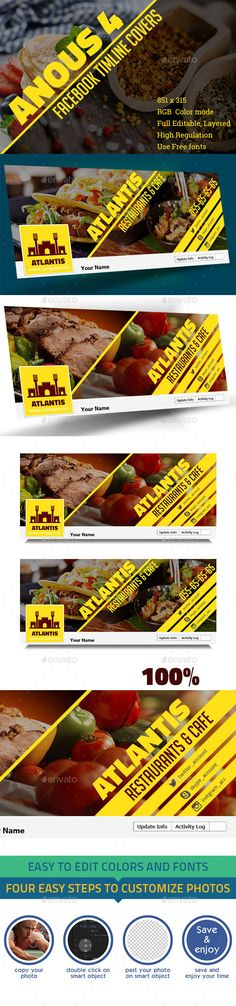 Anous III Facebook Timeline Cover Template #design #social Download: http://graphicriver.net/item/anous-iii-facebook-timeline-cover/12820484?ref=ksioks
