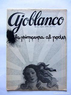 Coleccionismo de Revistas y Periódicos: AJOBLANCO LOTE DE 28 REVISTAS (1975/1977/1978+ NUEVA ÉPOCA (1988/1992)VER FOTOS Y DESCRIPCIÓN - Foto 6 - 67251977