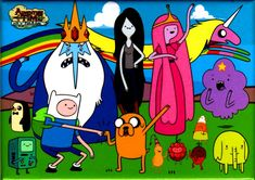 Adventure time all main characters – abip
