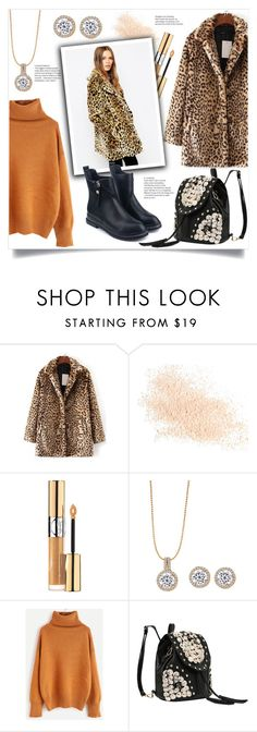 """""""Safari Winter"""" by mahafromkailash ❤ liked on Polyvore featuring WithChic, Eve Lom and Yves Saint Laurent"""