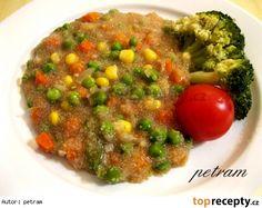 Amarant se zeleninou na způsob rizota Chana Masala, Grains, Health Fitness, Rice, Ethnic Recipes, Food, Per Diem, Meal, Eten