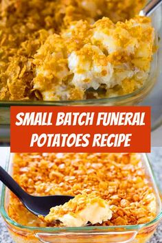Quick Potato Recipes, Gf Recipes, Side Dish Recipes, Cooking Recipes, Batch Cooking, Cheesy Potatoes With Hashbrowns, Cheesy Hashbrown Casserole, Potato Side Dishes, Veggie Dishes