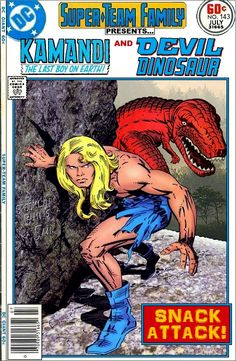 Super-Team Family: The Lost Issues!: Kamandi and Devil Dinosaur