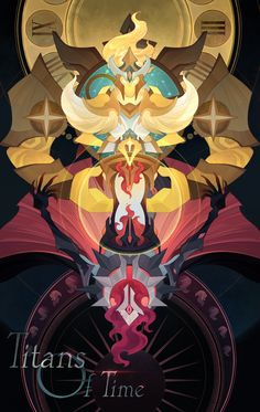 ArtStation - Afk arena Titans of time, Aric Athesis Titans Greek Mythology, Greek Titans, Greek Mythology Art, Game Card Design, Father Time, Cool Monsters, Dark Fantasy Art, Gods And Goddesses, Character Design Inspiration