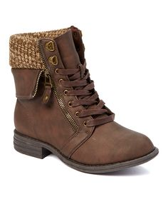 Brown Ursuela Ankle Boot