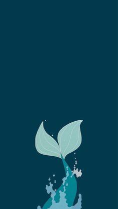 Really cute and simple wallpaper ( blueish) of the little mermaid (Disney) Mermaid Wallpaper Backgrounds, Ariel Wallpaper, Little Mermaid Wallpaper, Mermaid Wallpapers, Disney Phone Wallpaper, Cute Patterns Wallpaper, Wallpaper Iphone Cute, Cartoon Wallpaper, The Little Mermaid