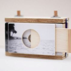 Pinhole Camera for 120mm film takes square images - included a 120 film