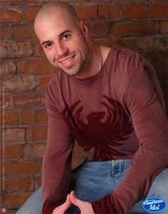 Chris Daughtry - he's a brown eyed version of my husband, how could I NOT find him scrumptious?