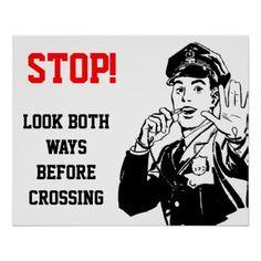 #teacher - #Look Both Ways Poster