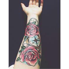 Repost from @luisa_li_ one that I did at the start of the year. ✌️ #tattoo #tattoos #tattooed #tattooart #tattooideas #tattooartist #tattoosforgirls #ladytattooers #littlebirdtattoo #ink #inkedgirls #bright_and_bold #ntgallery #newtattooworkers #bestradtattoos #neotrabsub #neotraditional #tattooenergy #tattoocollection #tattoolifemagazine #girlytattoos #TattooistArtMagazine #ntnc #compass #compasstattoo