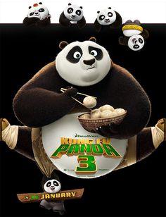 Kung Fu Panda 3 | Character Banner | TEN30 Studios