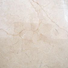Marfil 12'' x 12'' Marble Field Tile in Crema