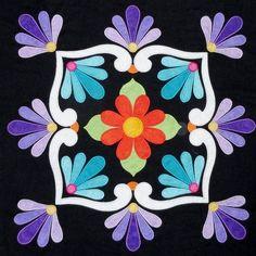 Quilt Block Patterns, Applique Patterns, Applique Quilts, Quilt Blocks, Southwestern Quilts, Southwest Art, Applique Wall Hanging, Hand Applique, Mexican Art
