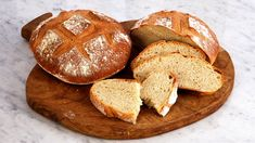 Nothing beats the smell of fresh bread coming out of the oven and these rustic styles will have you running to the kitchen to bake.