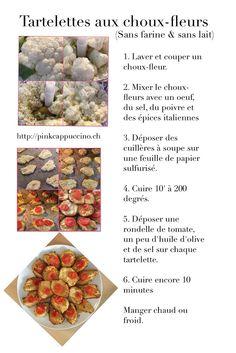 Tartelettes sans farine et sans lait Floral Tie, Gluten, Italian Spices, Parchment Paper, Milk