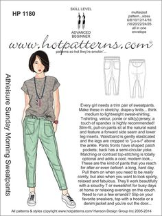 "...you may want to get this as a download, this is the version on letter or 8.5"" x 11"" paper...  http://www.hotpatterns.com/hp-1180-letter-download-athleisure-sunday-morning-sweatpants/"